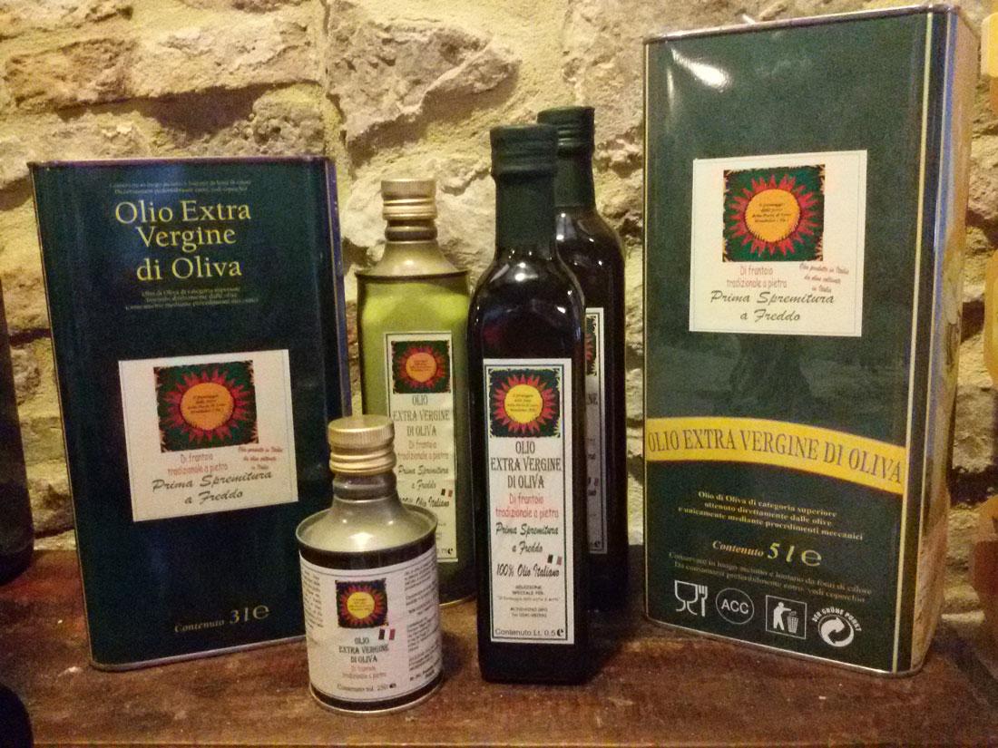 Olio extravergine d'oliva superiore di Mondaino