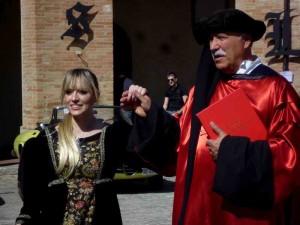 Angelo Chiaretti vestito Dante