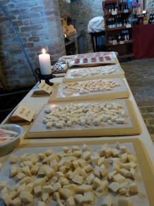 tavolo degustazione formaggi di fossa