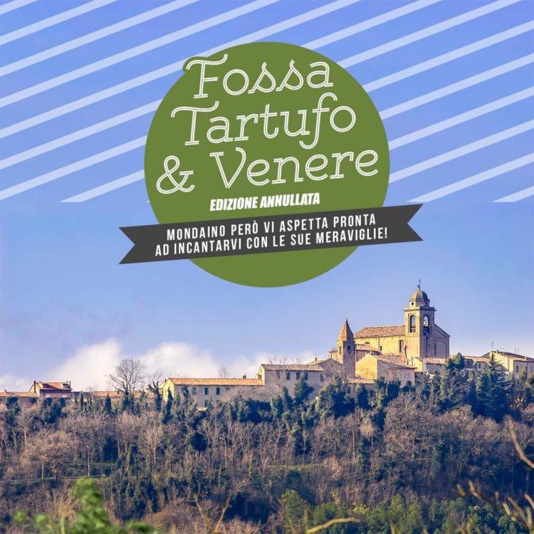 Fossa Tartufo e Venere Annullata causa Covid-19